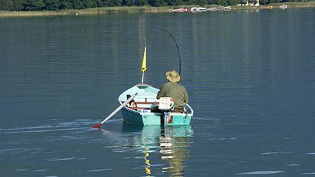 pêche à la traîne